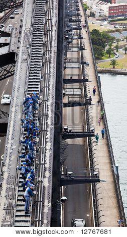 Sydney Harbour Bridge Climb - January 24, 2010