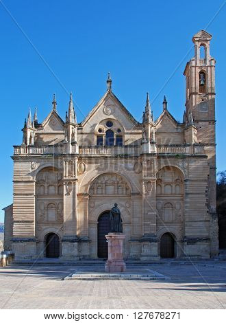 Santa Maria church at the top of the town Antequera Malaga Province Andalucia Spain Western Europe.