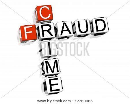 Crucigrama del delito de fraude