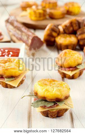 Proja Sausage Sandwich