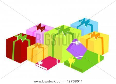 Gifts - Vector