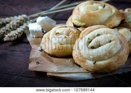 Bosnian Cheese Pie