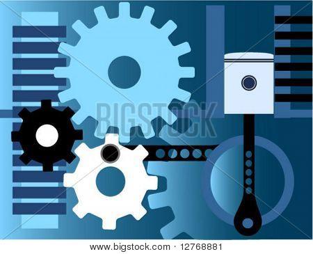 Gears - Vector