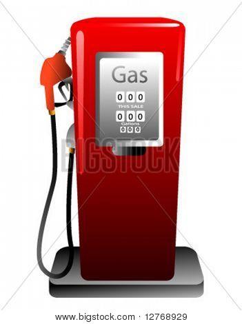 Bomba de gasolina - vetor