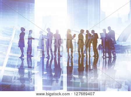 Business People Discussion Meeting Team Corporate Concept