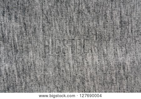 Gray Knitting Cloth Texture.