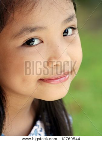Young Asian Child Portrait