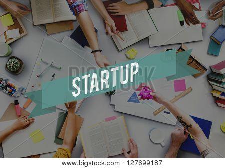Start Up Aspiration Business Creative Enterprise Concept