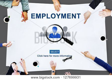 Employment Career Job Occupation Hiring Concept