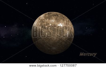 Solar Sysytem Planet Mercury