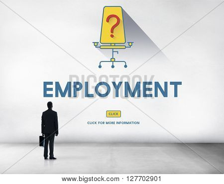 Jobs Career Hiring Employment Hiring Concept