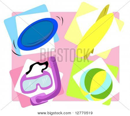 Summer Icons - Vector