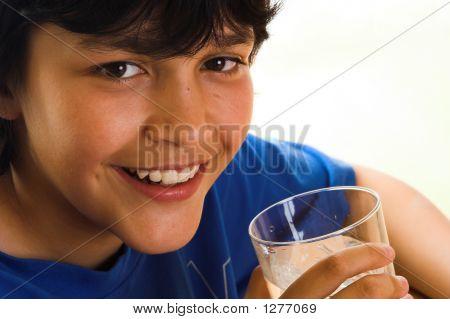 Agua con una sonrisa