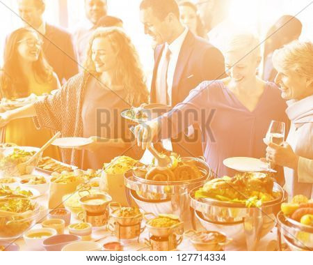 Food Festive Restaurant Party Unity Concept