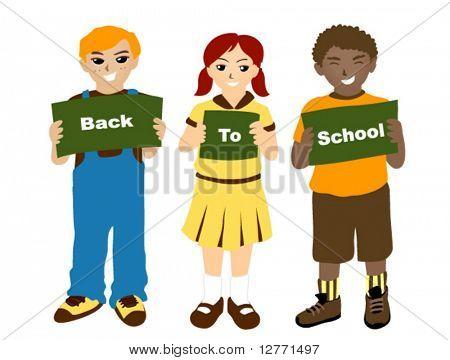 Back to School - Vector
