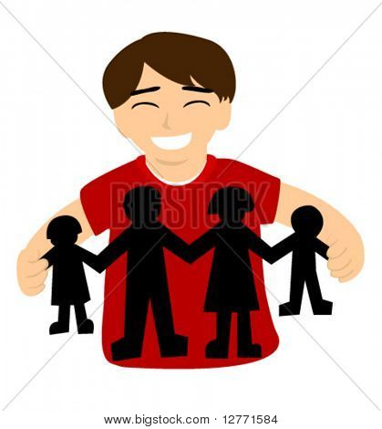 My Family - Vector