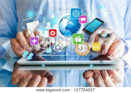 Digital Tablet Apps.