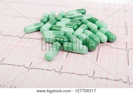 Green Pills On Ekg