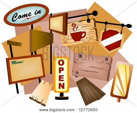 Signages - Vector