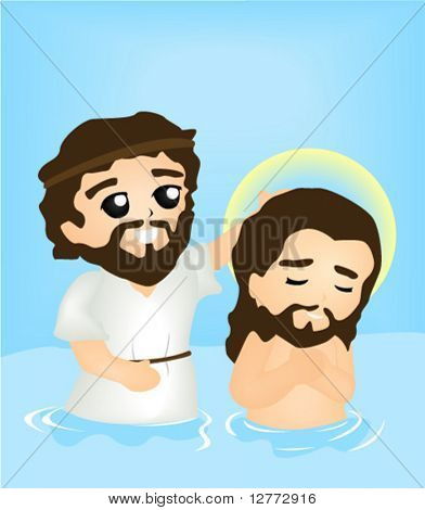 Baptism of Christ - Vector
