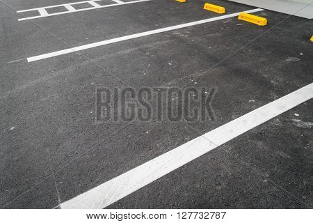 Empty car parking