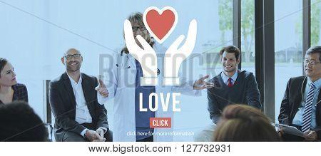 Love Charity Organization Social Help Concept