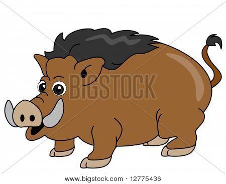 Wild Boar - Vector