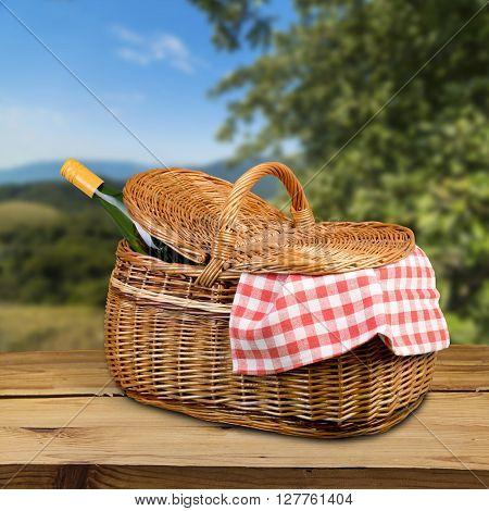Picnic Basket.