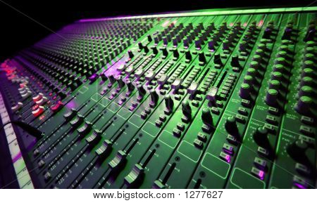 Mezclador de música
