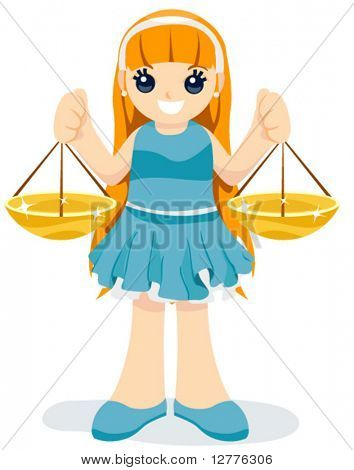 Libra Child - (7 of 12) Vector