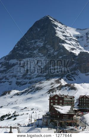 The Eiger From Grindelwald Swiss Alps 3