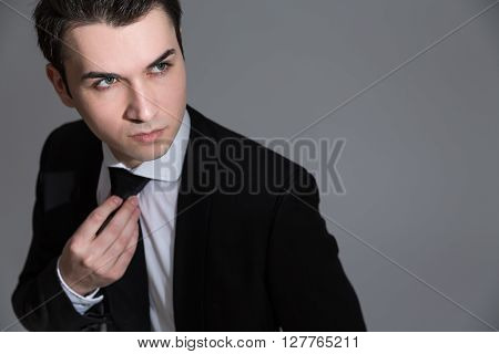 Handsome Caucasian Businessman