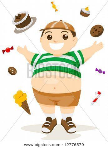 Fatty Foods - Vector