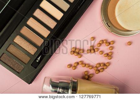 Stylish Cosmetics Makeup Essentials
