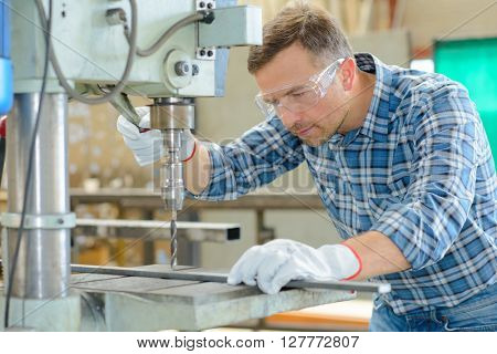 drilling metal