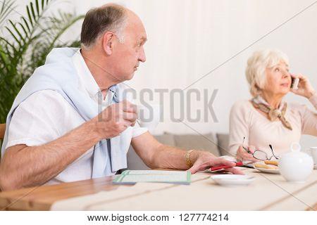 Modern Grandmother And Her Husband