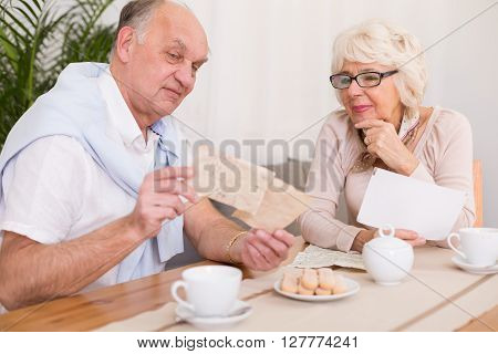 Couple Waiting For Letter