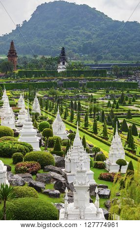 Botanical Garden in Pattaya Nong Nooch, Thailand