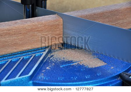 Close Up Of Cutting Board