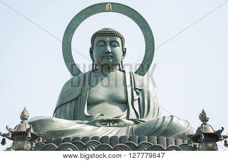 Takaoka Daibutsu one of the three Great Buddha Japan