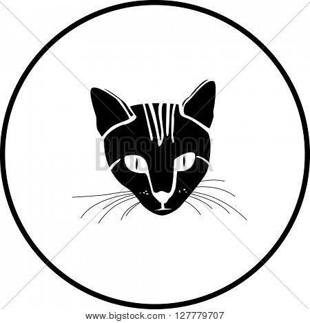 cat head symbol