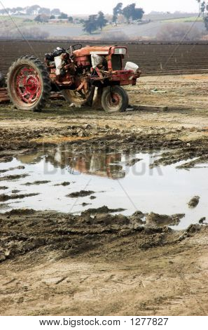 Tired Tractor