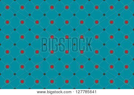 Summer Seamless Pattern Background. Summer Pattern Design. Vector Stock.