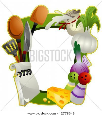 Cooking Frame - Vector