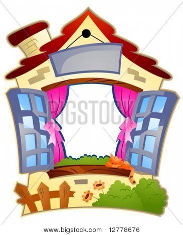 House Frame - Vector