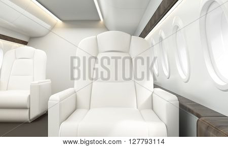 Leather Armchair Aircraft