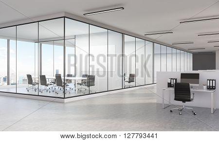 Office Interior Ny Side