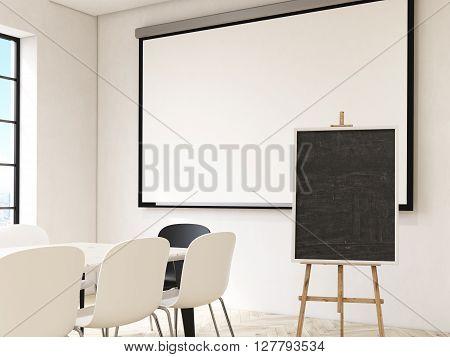 Blackboard And Whiteboard