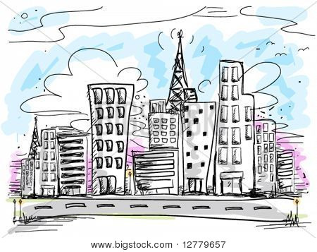 Urban Doodles - Vector