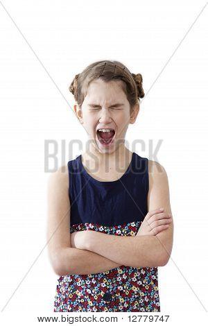 Yawning Child